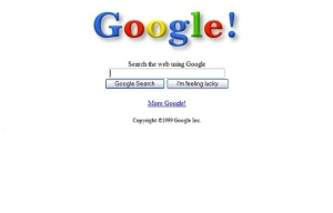 Google in the beginning