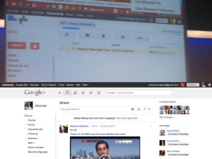 Google Drive and Google Plus profile