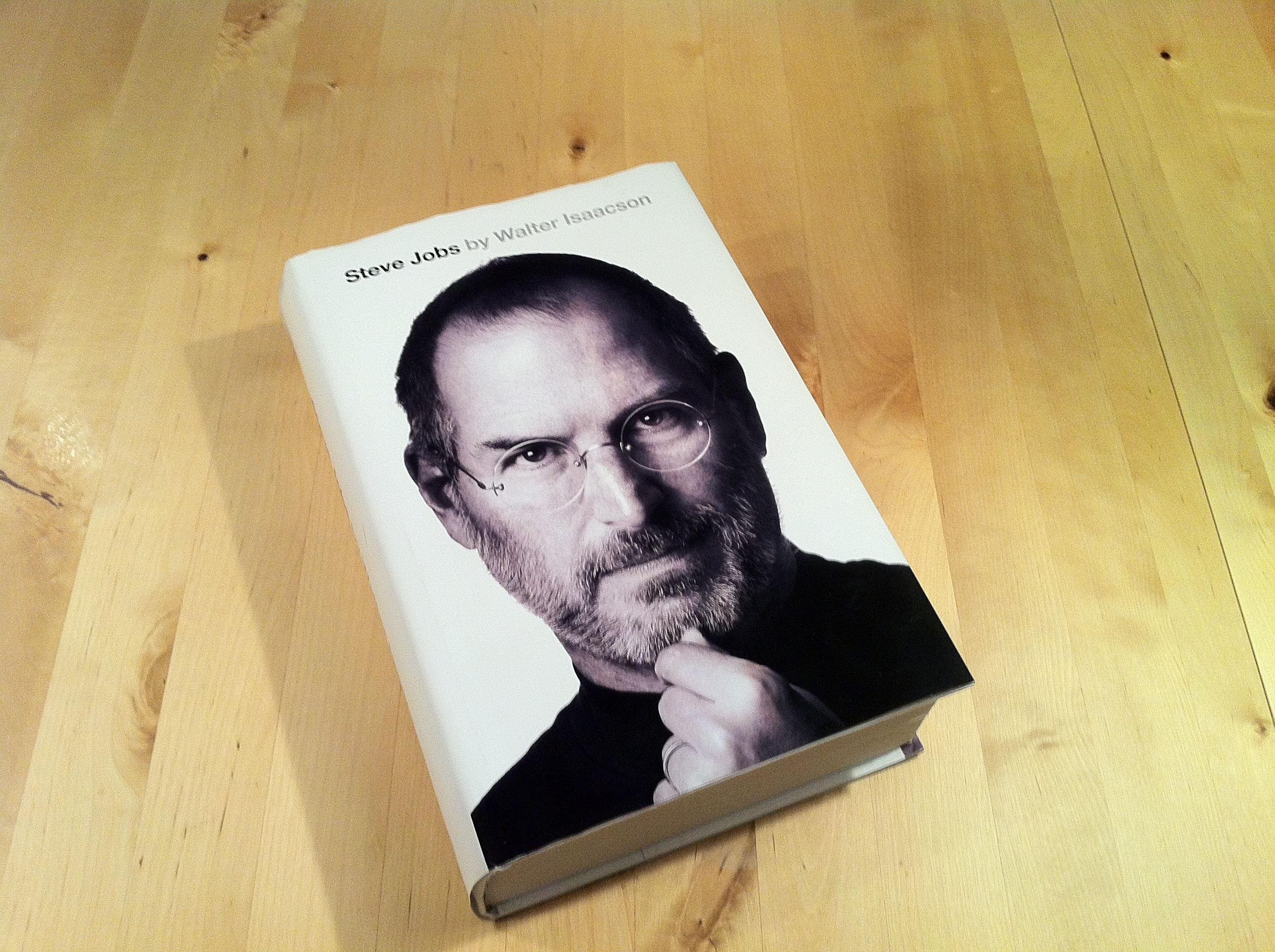 ... Steve Jobs as a summary for everyone who didn't want to read the