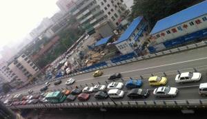 Flyover in Chengdu